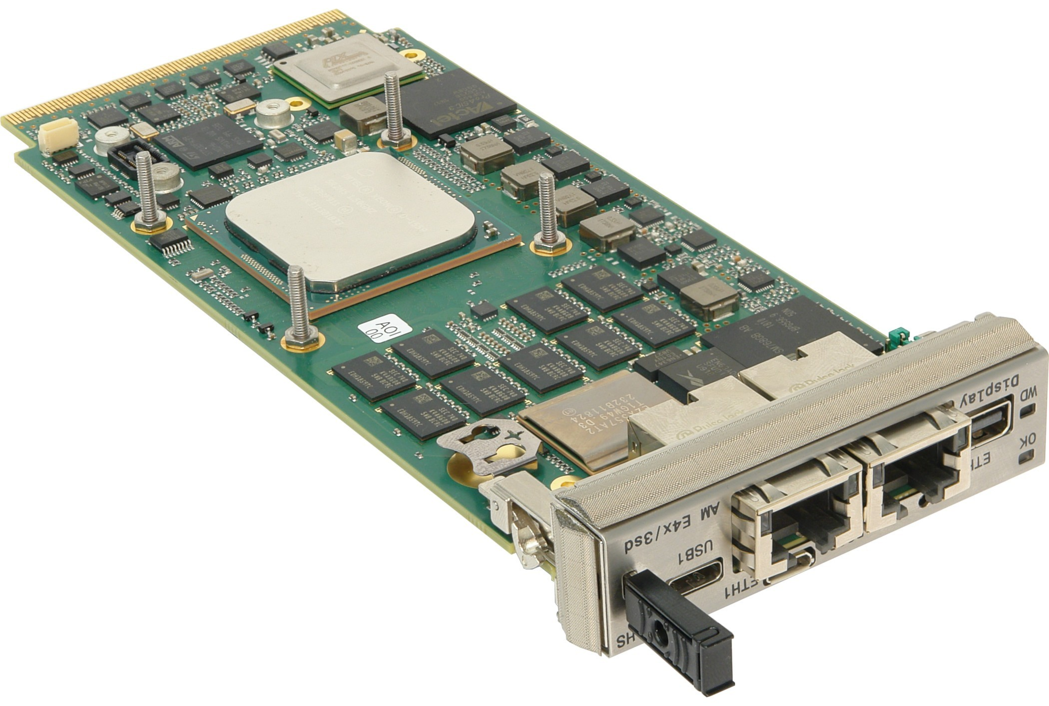 <h4>AM E4x/msd AdvancedMC module based on Intel Xeon Processor D-1500<h4>
