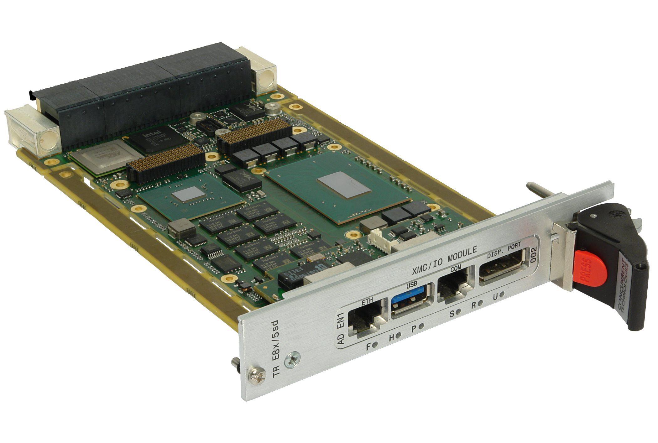<h4>TR E8x/msd — 3U VPX Processor board<h4>