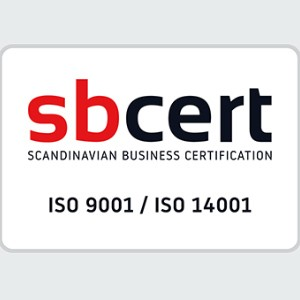 ISO 9001 & 14001 Certificate