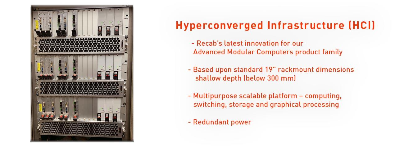 <h1> Hyperconverged Infrastructure <br /> - (HCI)<h1>